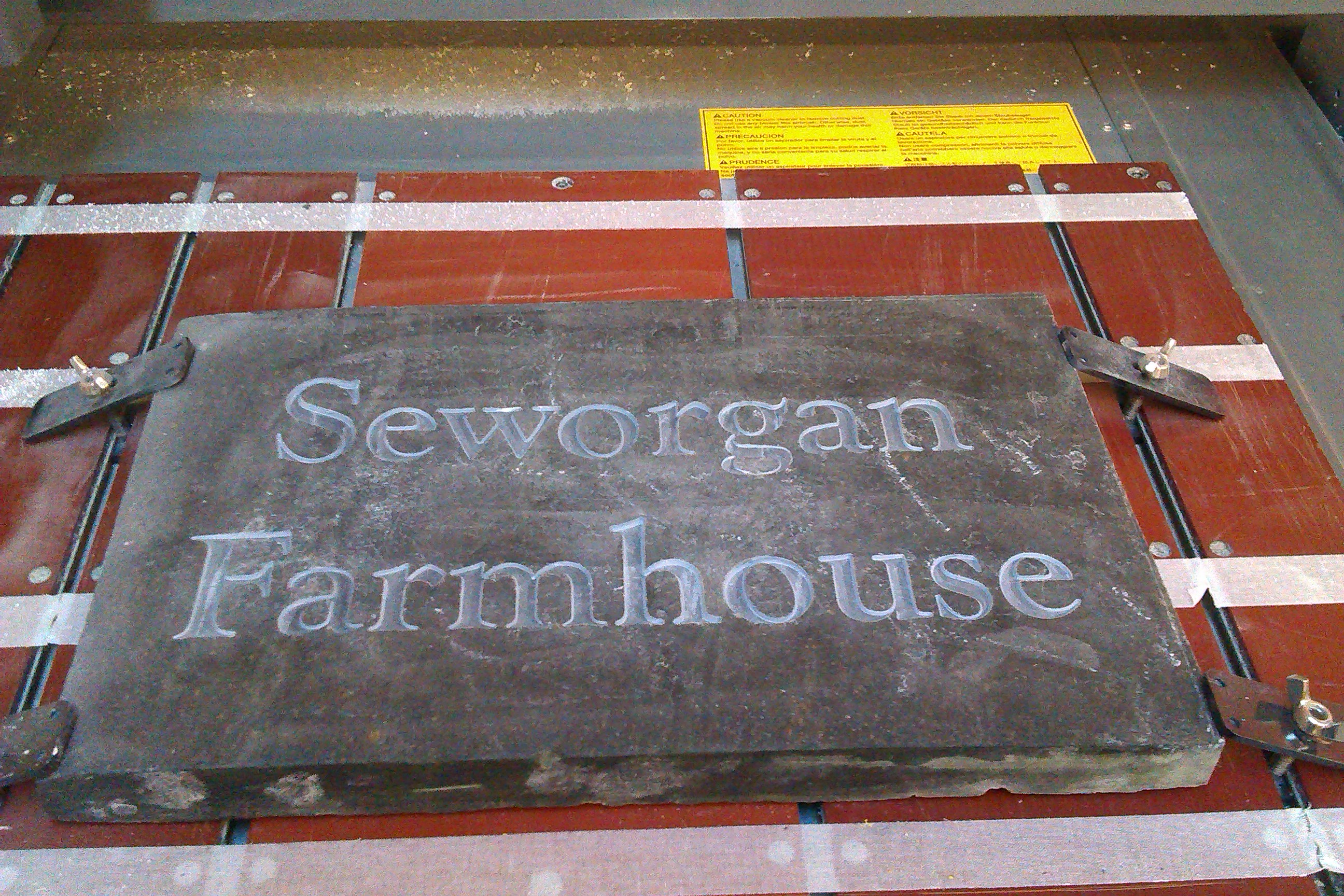 Seworgan Farmhouse sign